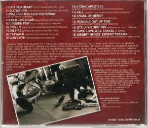 Knifedance - Discography 1985 - 1990 CD (Back) croped