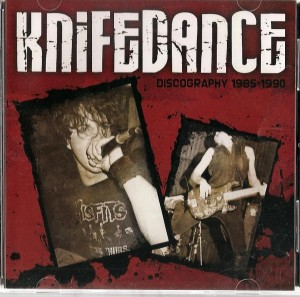 Knifedance - Discography 1985- 1990 CD cropped