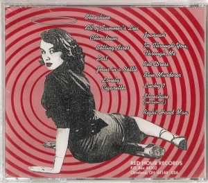 Stepsister CD- Straight Up, No Chaser (back)