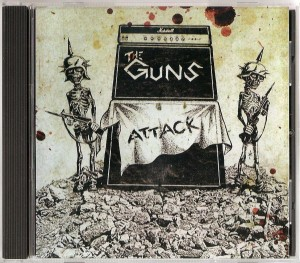 The Guns - Attack CD
